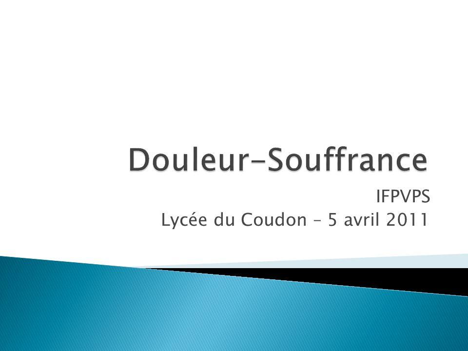 IFPVPS Lycée du Coudon – 5 avril 2011