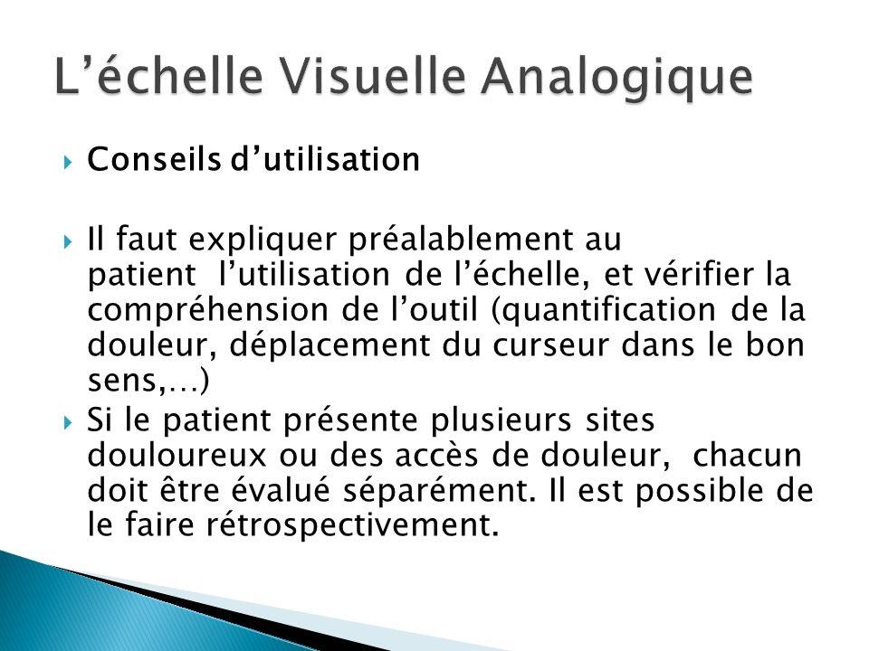 L'échelle Visuelle Analogique