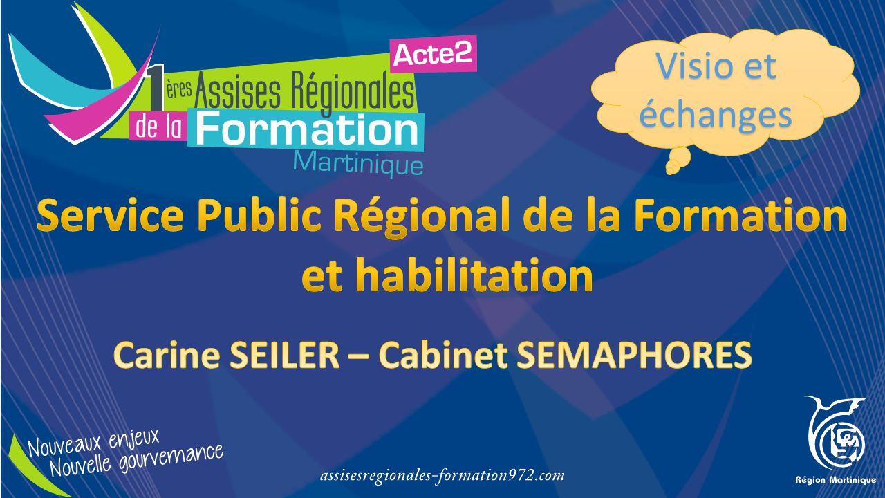 Service Public Régional de la Formation et habilitation