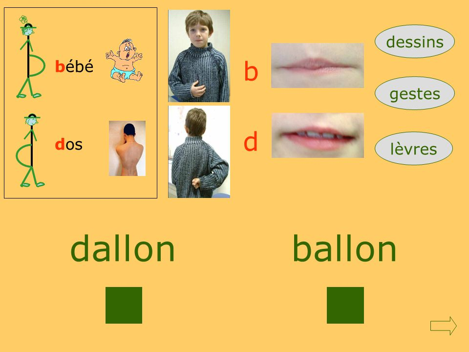 dessins bébé b gestes d dos lèvres dallon ballon