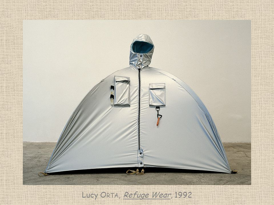 Lucy Orta, Refuge Wear, 1992
