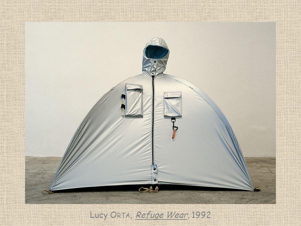 Lucy Orta, Refuge Wear, 1992