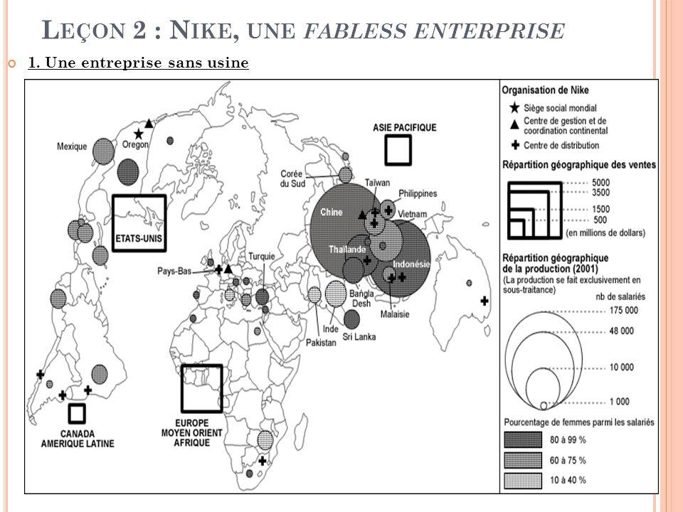 Leçon 2 : Nike, une fabless enterprise