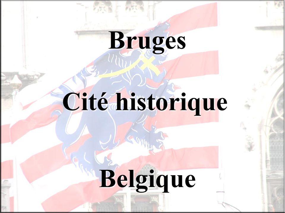 Bruges Cité historique Belgique