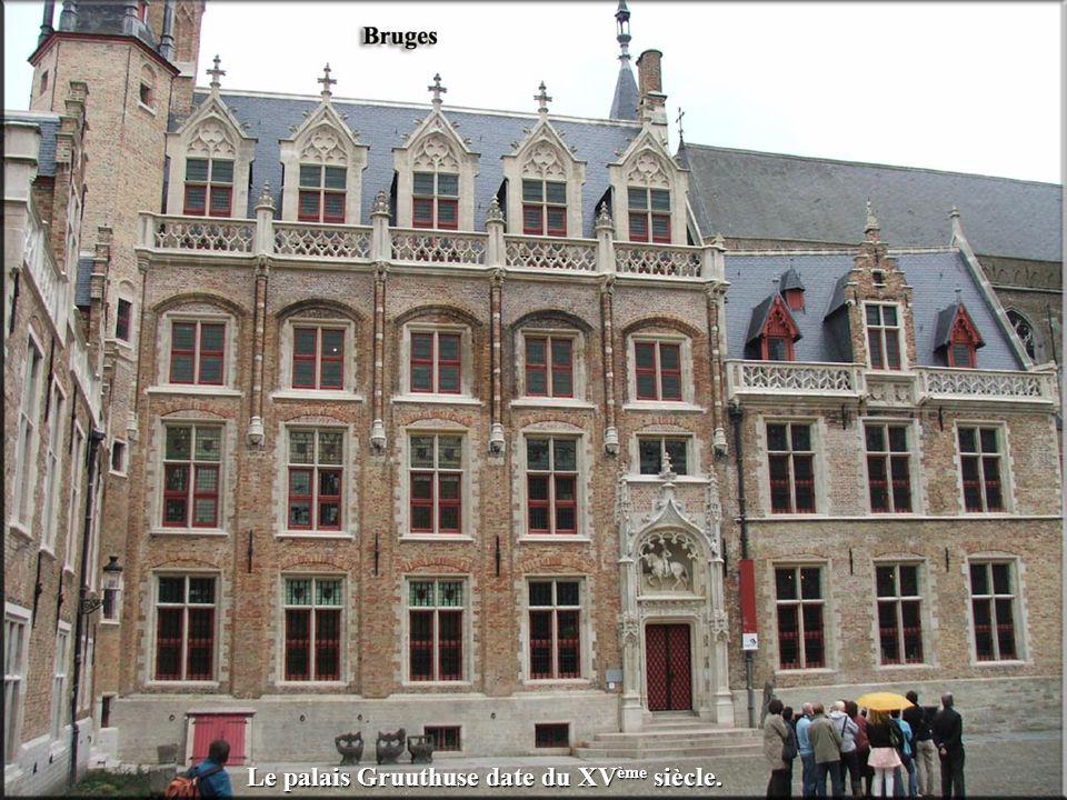 Le palais Gruuthuse date du XVème siècle.