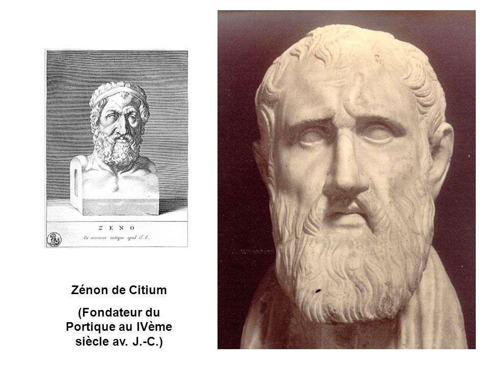 (Fondateur du Portique au IVème siècle av. J.-C.)