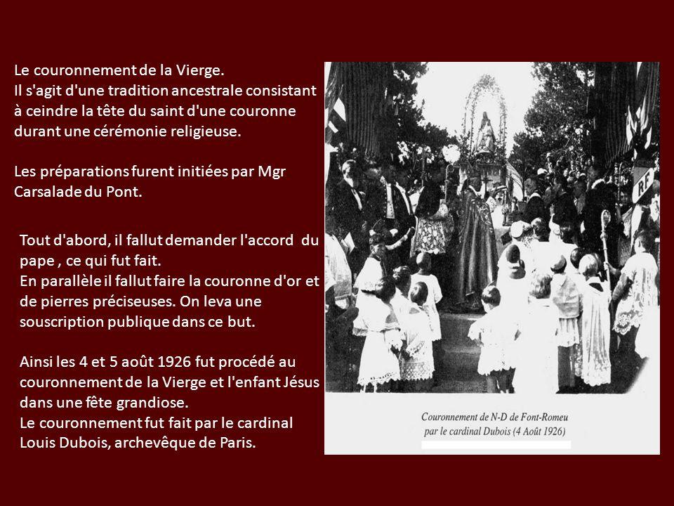 Le couronnement de la Vierge.