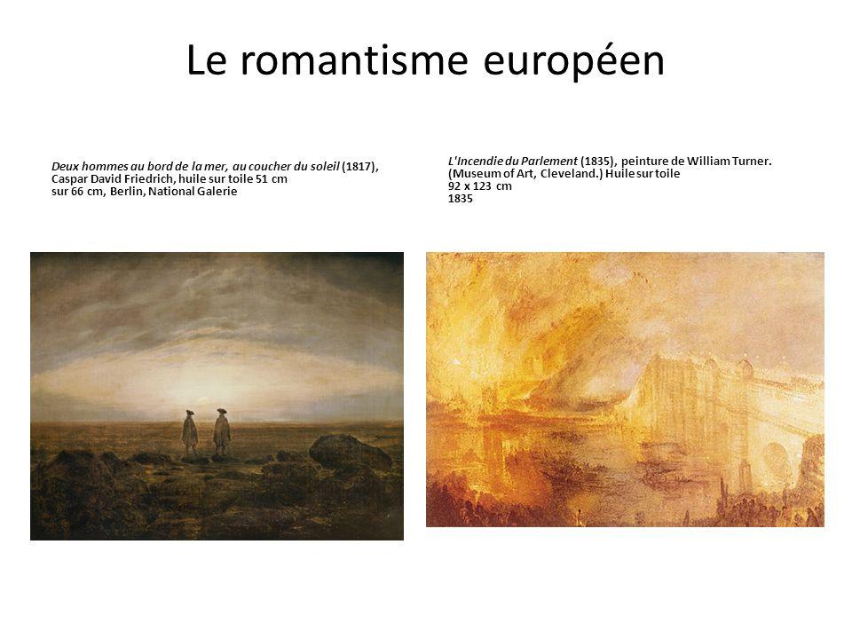 Le romantisme européen