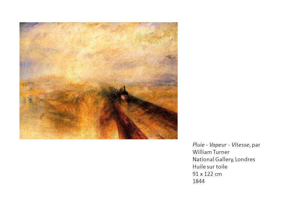 Pluie - Vapeur - Vitesse, par William Turner