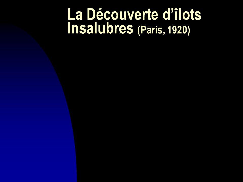 La Découverte d'îlots Insalubres (Paris, 1920)