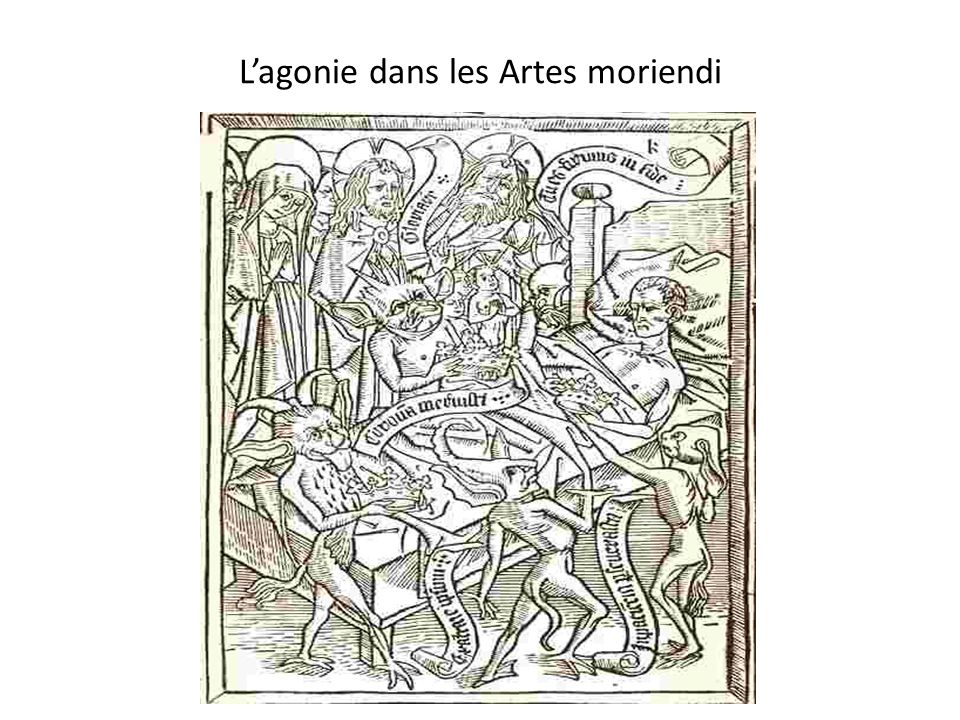 L'agonie dans les Artes moriendi