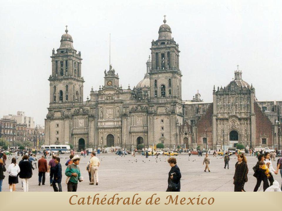 Cathédrale de Mexico
