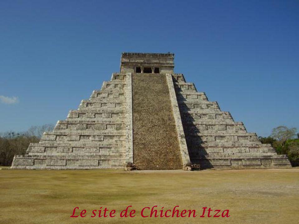 Le site de Chichen Itza