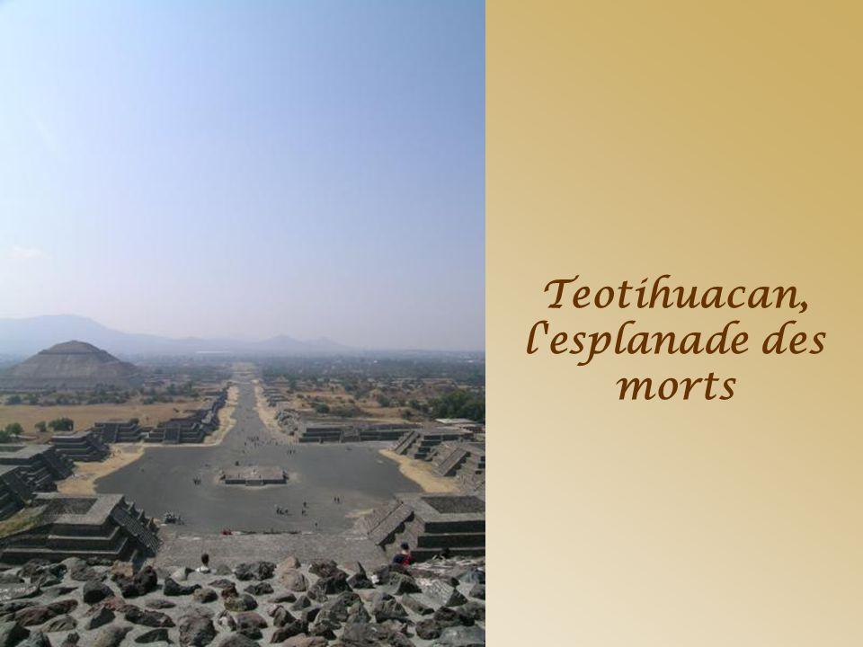 Teotihuacan, l esplanade des morts
