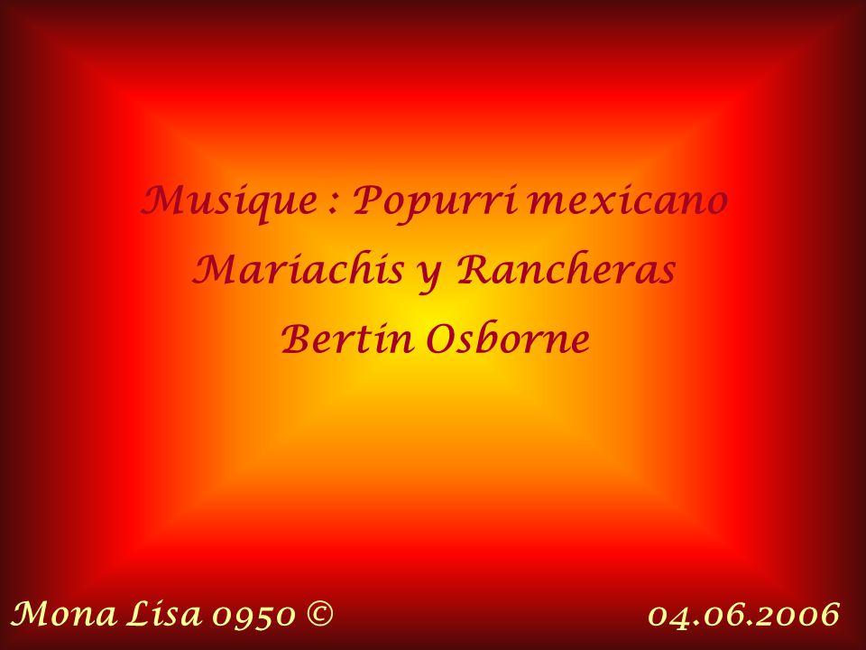Musique : Popurri mexicano
