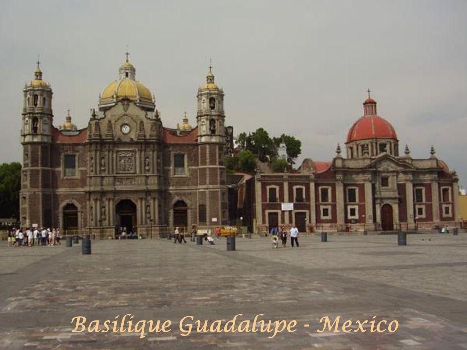 Basilique Guadalupe - Mexico