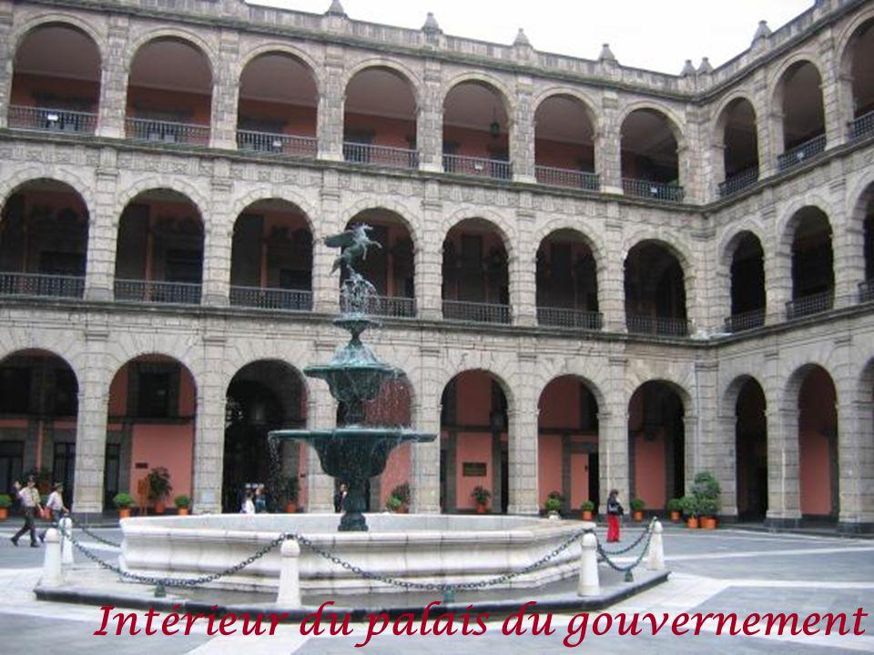 Intérieur du palais du gouvernement