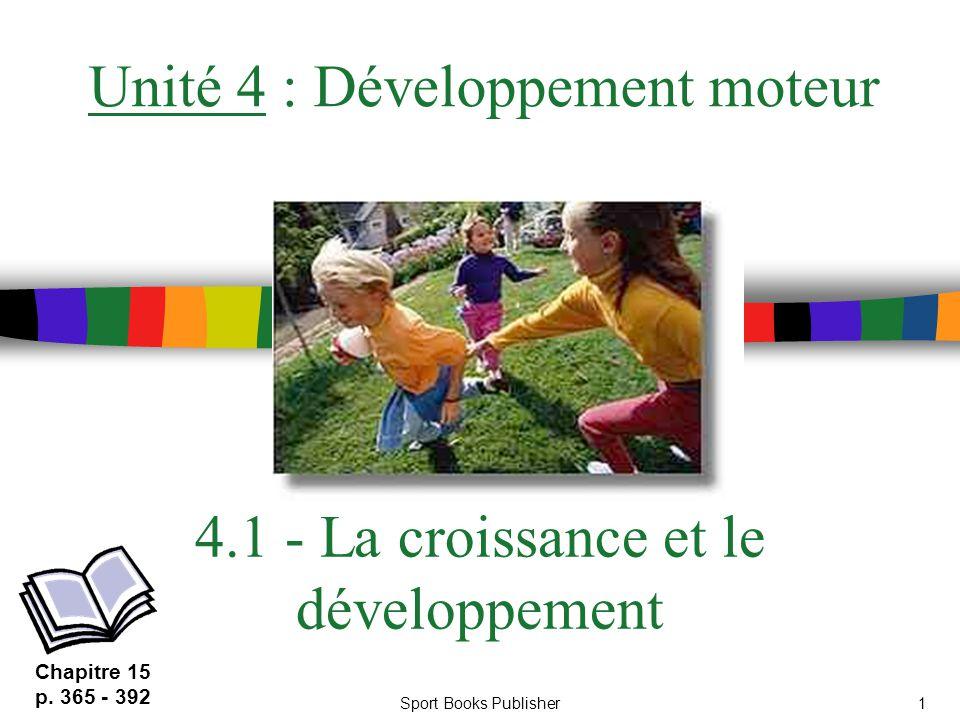 4.1 - La croissance et le développement