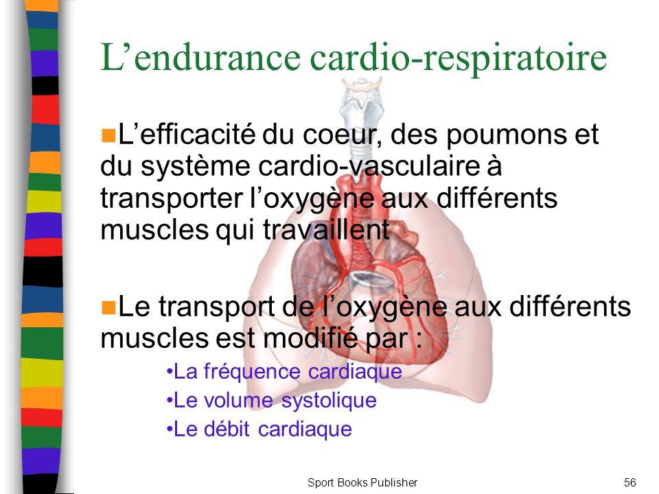L'endurance cardio-respiratoire