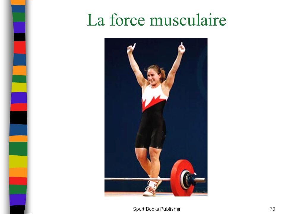 La force musculaire Sport Books Publisher