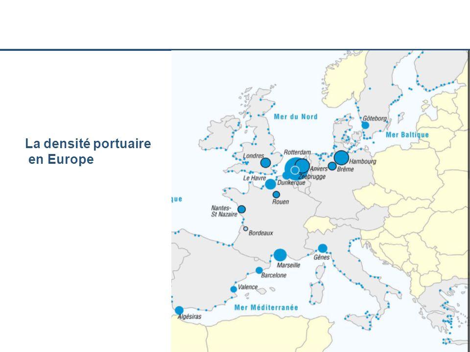 La densité portuaire en Europe