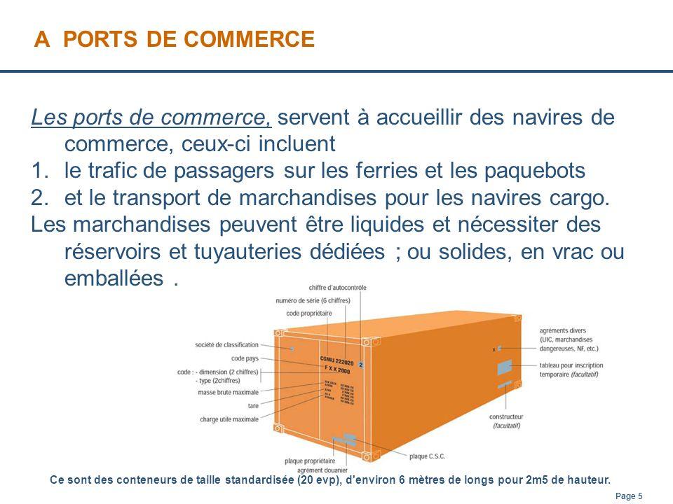 le trafic de passagers sur les ferries et les paquebots