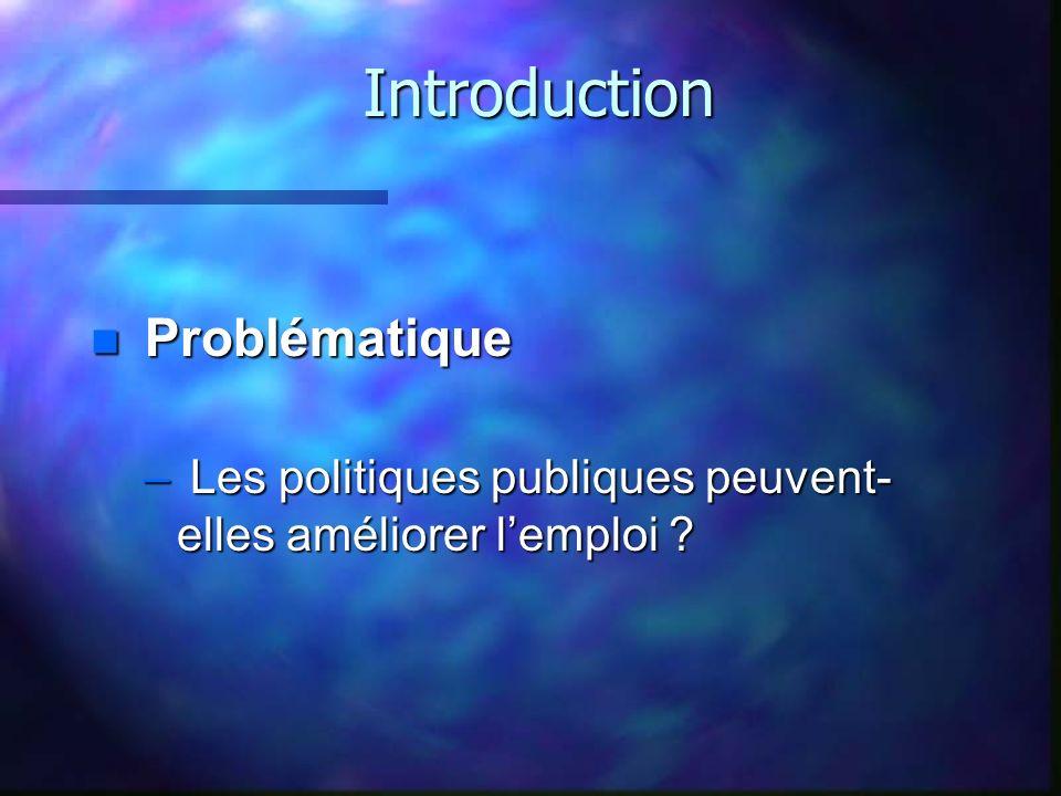 Introduction Problématique