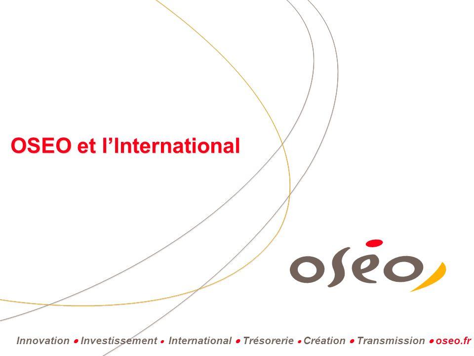 OSEO et l'lnternational
