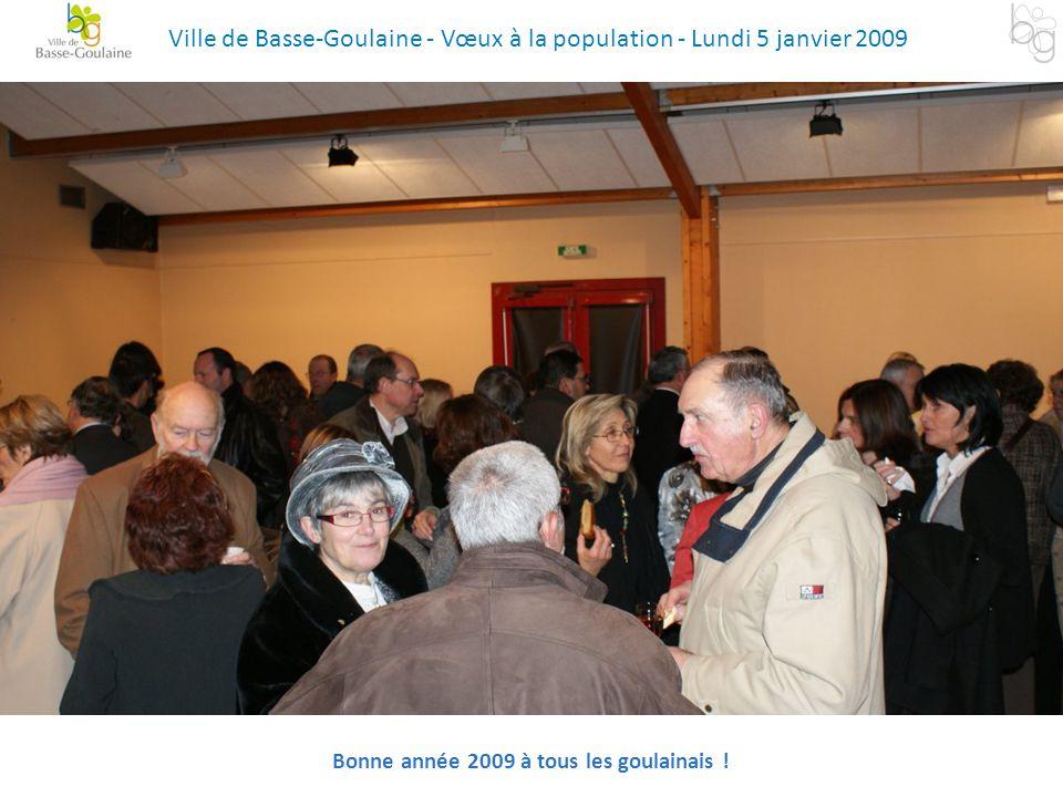 Bonne année 2009 à tous les goulainais !