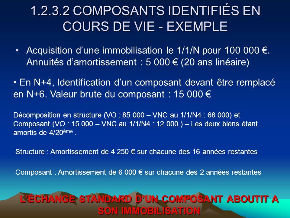 1.2.3.2 COMPOSANTS IDENTIFIÉS EN COURS DE VIE - EXEMPLE