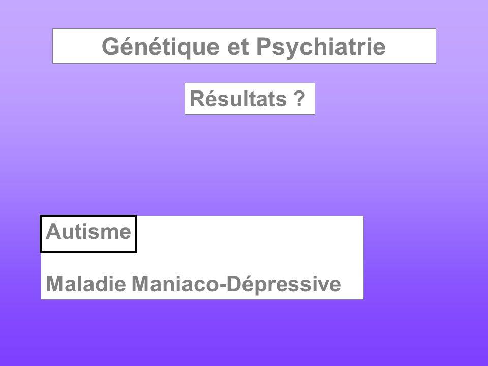 Génétique et Psychiatrie