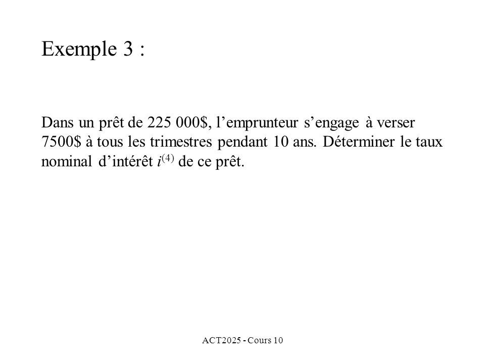 Exemple 3 :