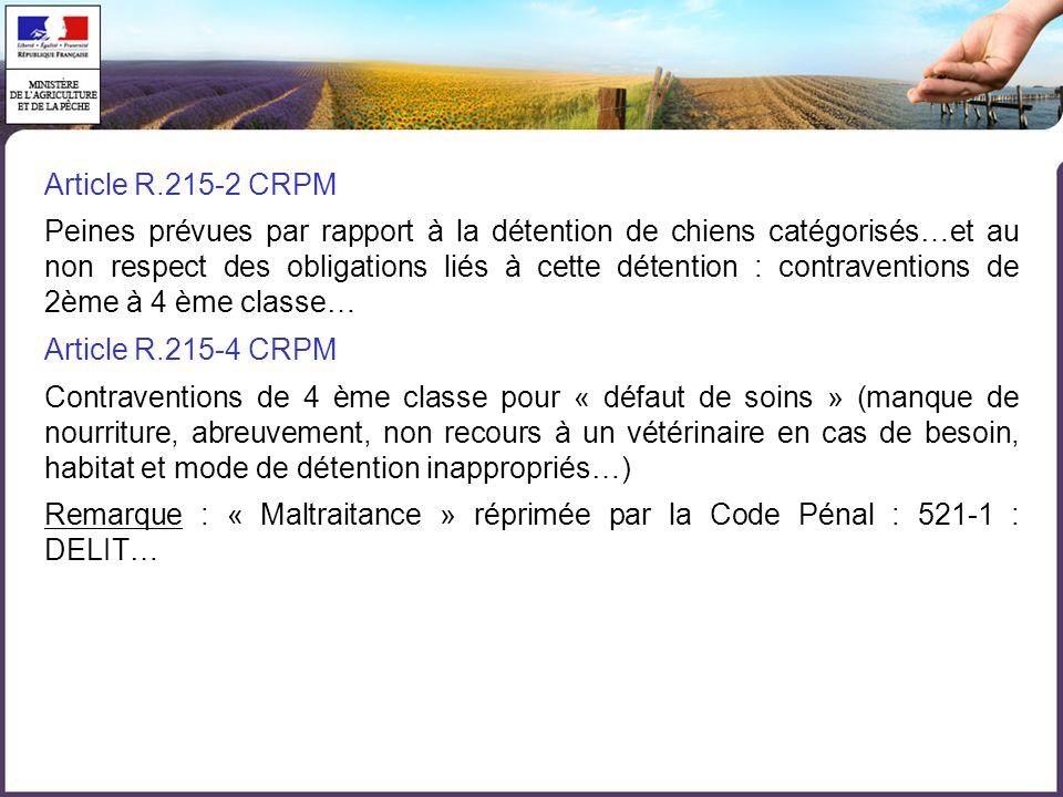 Article R.215-2 CRPM