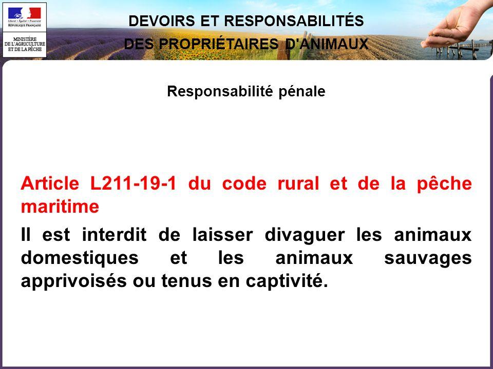 Article L211-19-1 du code rural et de la pêche maritime