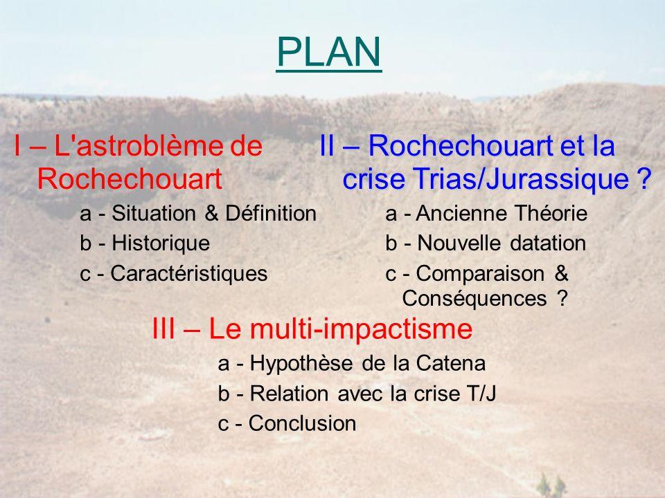 PLAN I – L astroblème de Rochechouart