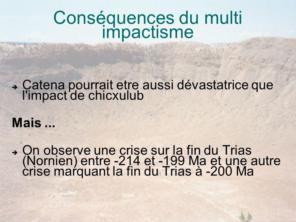 Conséquences du multi impactisme