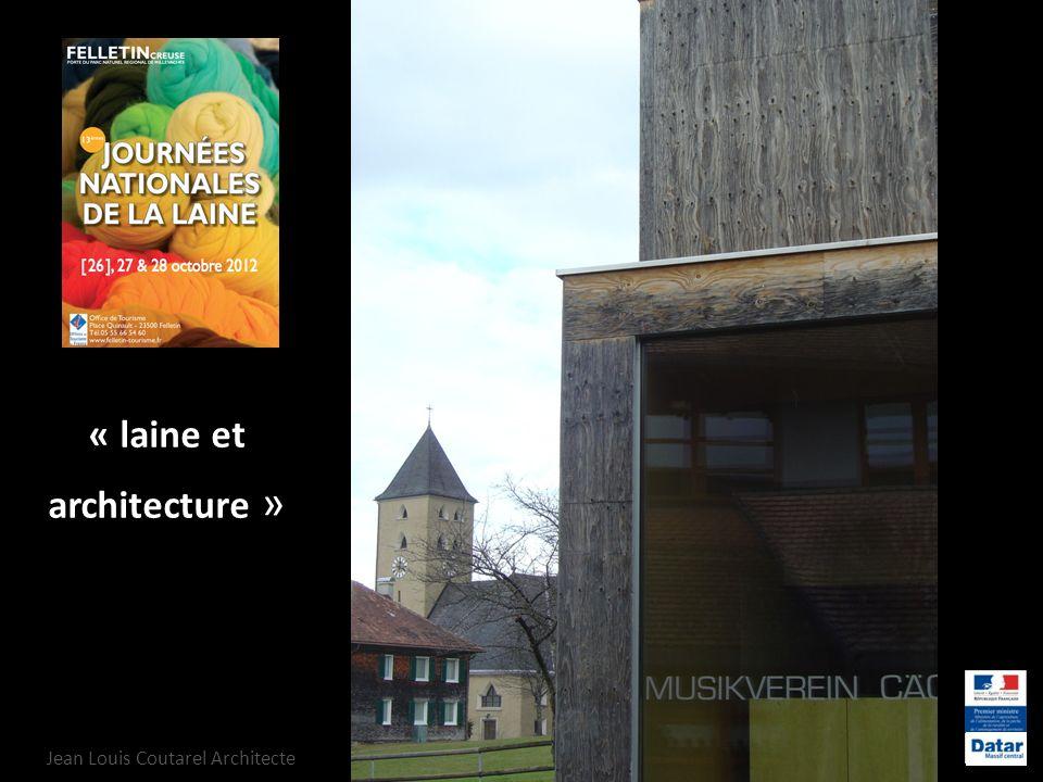 « laine et architecture »