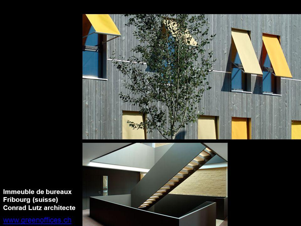 www.greenoffices.ch Immeuble de bureaux Fribourg (suisse)