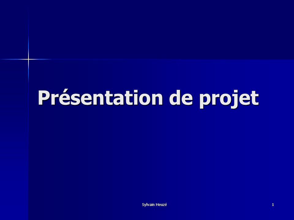 Présentation de projet
