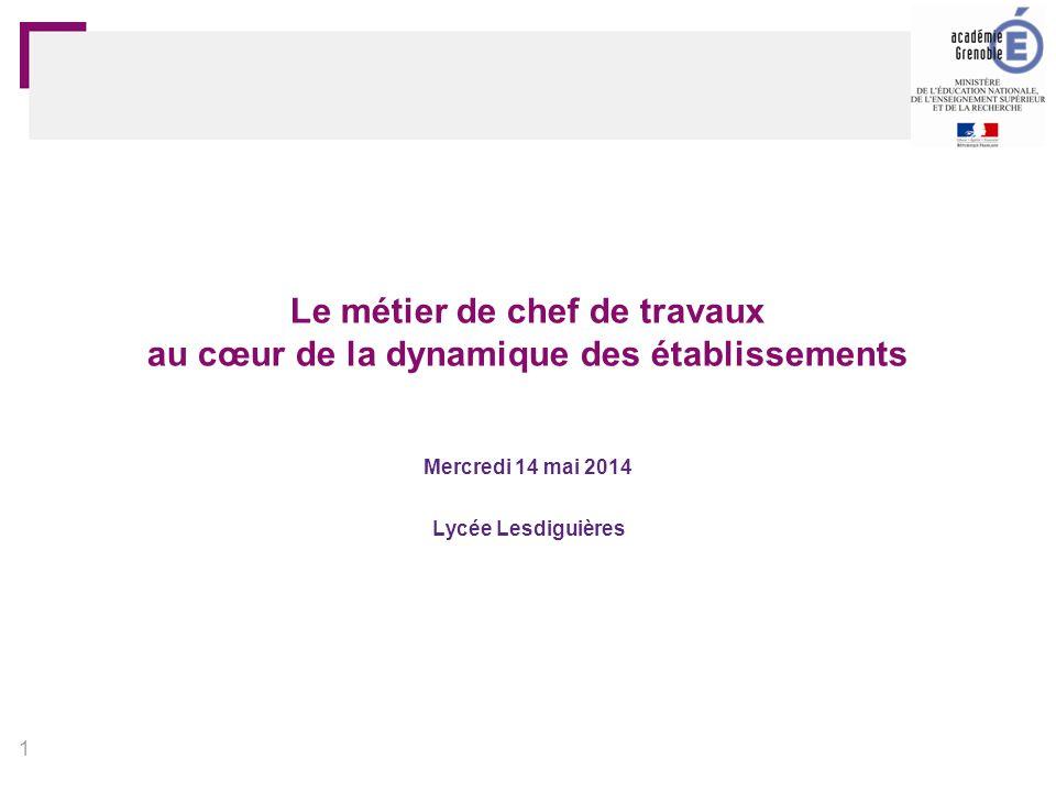 Mercredi 14 mai 2014 Lycée Lesdiguières