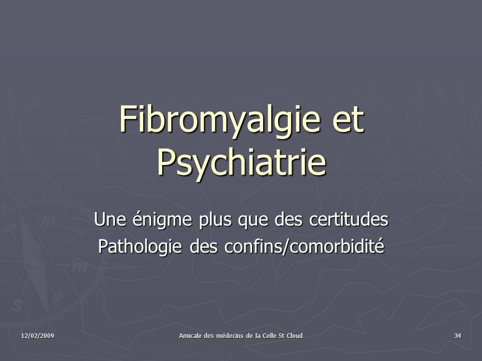 Fibromyalgie et Psychiatrie