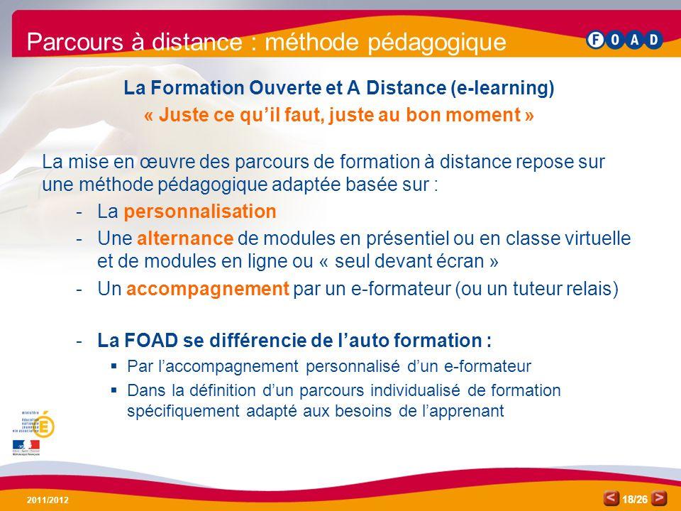 La Formation Ouverte et A Distance (e-learning)