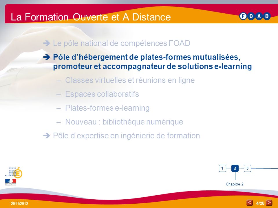 La Formation Ouverte et A Distance