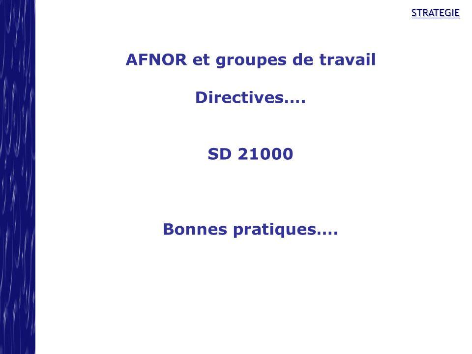 AFNOR et groupes de travail
