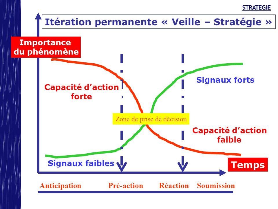 Itération permanente « Veille – Stratégie »