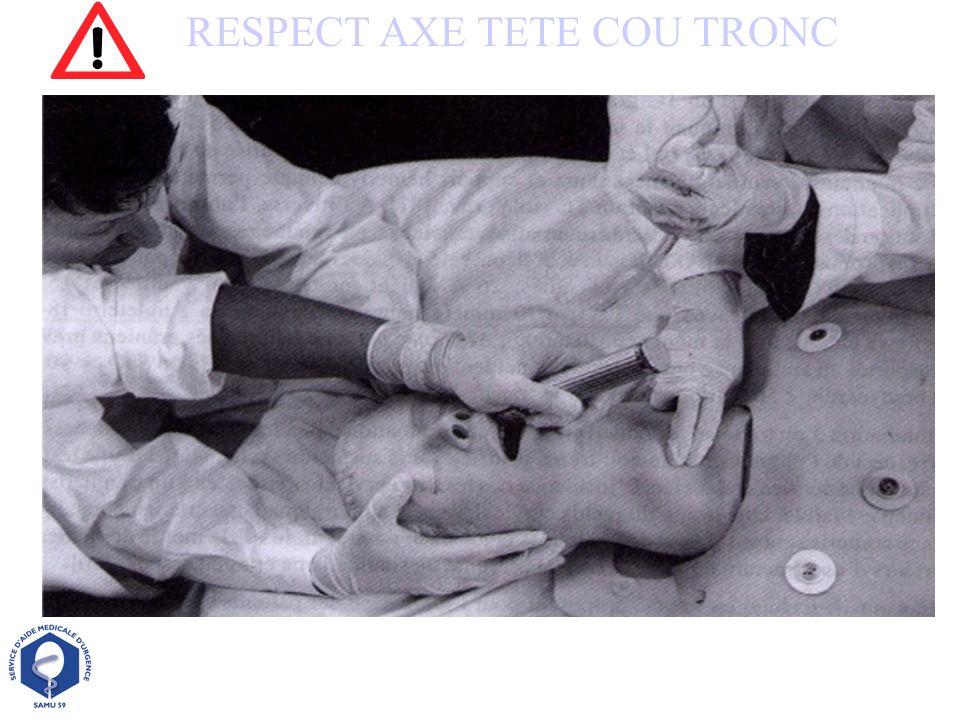 RESPECT AXE TETE COU TRONC