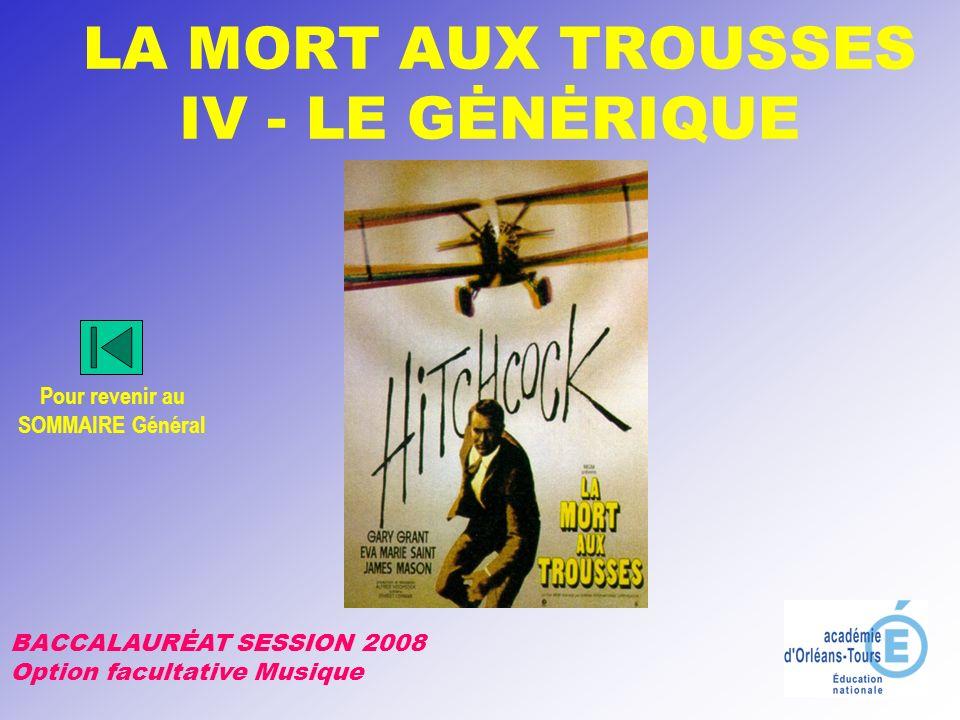 LA MORT AUX TROUSSES IV - LE GĖNĖRIQUE