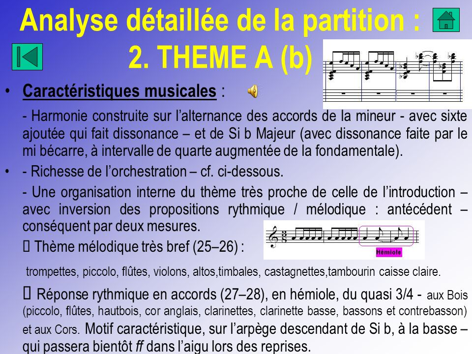 Analyse détaillée de la partition : 2. THEME A (b)