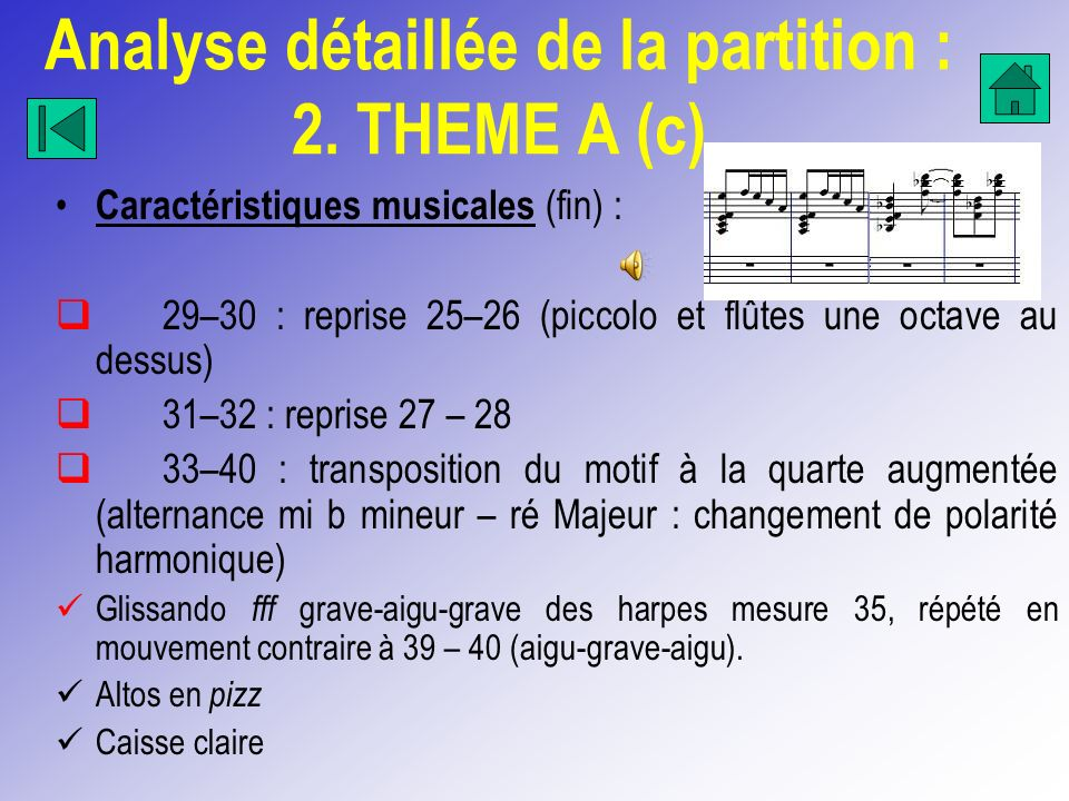 Analyse détaillée de la partition : 2. THEME A (c)