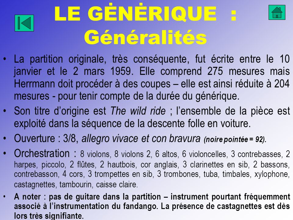 LE GĖNĖRIQUE : Généralités